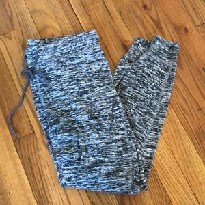 Grey crop Sweatpants